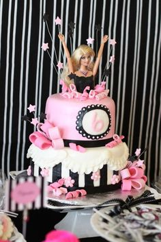 #cake # barbie doll