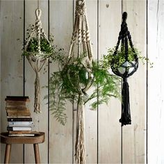 Surprising summer trend #1 - hanging plant holders