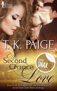 #‎Crystal‬ shared her thoughts on T. K Paige's A Second Chance Love today! If your looking for a ‪#‎MMF‬ read, be sure to check this one out!