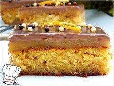 ΚΟΛΑΣΜΕΝΗ ΠΟΡΤΟΚΑΛΟΠΑΣΤΑ!!! - Νόστιμες συνταγές της Γωγώς! Sugar Love, Greek Sweets, Pasta, Chocolate Brownies, Marzipan, Dessert Recipes, Desserts, Cake Pops, Vanilla Cake