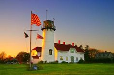 """Chatham Massachusetts is one of the best beach towns in the U.S. Known as """"the first stop of the East Wind,"""" it ha... - Thinkstock"""