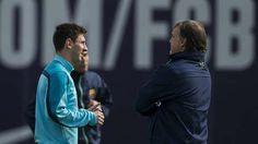 ¡¡¡ VIVEN !!!   Messi y Martino quiere dar el golpe en la Liga.