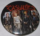 Casualties 2-inch Mega Button $1.65 #punk #music #buttons #accessories www.drstrange.com
