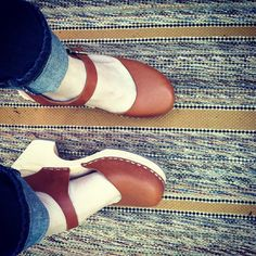 So happy with my Lotta from Stockholm clogs.