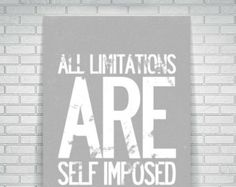 Typography Poster, Typographic Print, Motivational Wall Decor, Bedroom Wall Decor, Kids Wall Decor, Motivational Quote, Black and White.