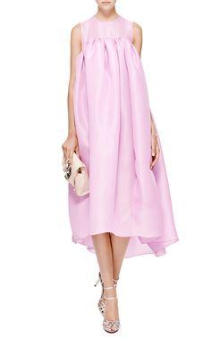Violet Beauregard Silk-Organza Dress