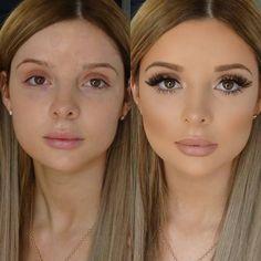Maskcara Beauty Makeover - Maskcara Beauty Makeover One palette for this beautiful look! Learn more about Maskcara! Contour Makeup, Skin Makeup, Makeup Art, Contouring, Makeup Hacks, Wedding Makeup Tips, Bridal Makeup, Pageant Makeup, New Makeup Ideas
