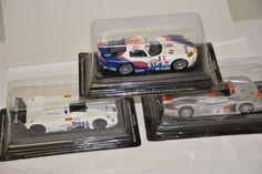 LOTTO DI   3 MODELLINI AUTO RALLY:  AUDI R8, CHRYSLER VIPER GTS- R, BMW