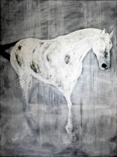 "Saatchi+Online+Artist+CHAKIB+BENKARA;+Painting,+""WHITE+SYMPHONY+No2""+#art"