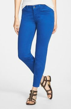 NYDJ 'Clarissa' Fitted Stretch Ankle Skinny Jeans (Regular & Petite) available at #Nordstrom