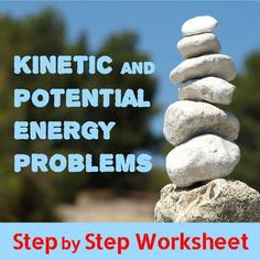 kinetic and potential energy problem set answers