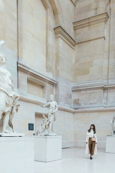 french girl at the Louvre | Jenny of Margo & Me