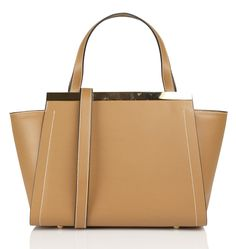 Sac en cuir Marron by AU PRINTEMPS PARIS