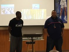 Durand & Steve sharing report from Cleveland Chapter of KING
