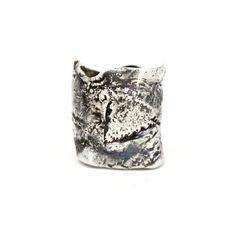 "Sterling silver ""Broken"" ring"