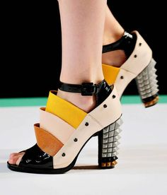 Fendi Spring 2013 collection, designed by Nicholas Kirkwood
