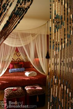 Moroccan-style decor at El Morocco Inn and Spa in Desert Hot Springs, CA