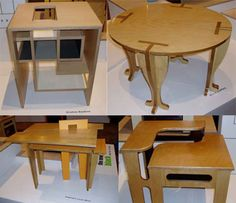 Flat Pack: 20 Creative Furniture Designs for Cramped Living   Urbanist
