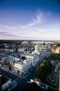 Aerial View of Kingston, Ontario, Canada - The Places Youll Go, Places To See, Gros Morne, Road Trip Europe, Road Trips, Queen's University, Ontario Travel, Kingston Ontario, Vacation Trips