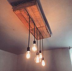 Ideas de casa on pinterest ideas para mesas and coat racks for Lamparas para jardineras