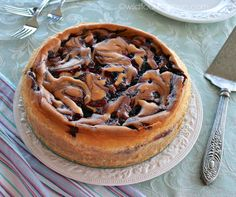 Best ever white chocolate huckleberry cheesecake