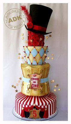 Female Circus Cake