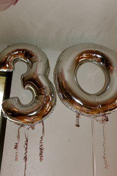 30 years balloons