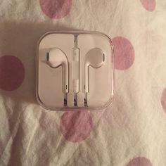 Apple headphones Brand new apple headphones still never been opened Apple  Other