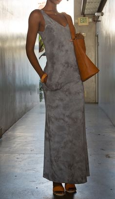 LVR Organic Cotton Double V Pocket Maxi   Made in Los Angeles   Available at Bead & Reel #madeinamerica