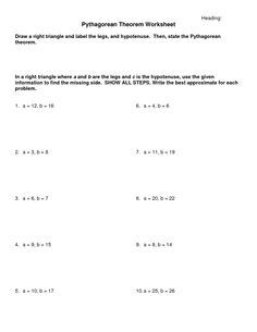 Worksheet Pythagorean Theorem Worksheets pythagorean theorem law and worksheets on pinterest worksheet word problem pdf