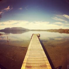 Lake Tarawera, New Zealand