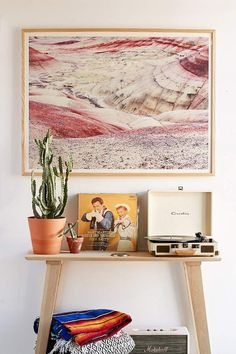 Beautiful! Urban Outfitters Christina Hicks Painted Hills Art #Print | #ad