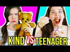 KIND VS. TEENAGER: DEIN GEILES LEBEN FRÜHER vs. HARTES LEBEN HEUTE | Erwartung & Realität im Alltag - YouTube