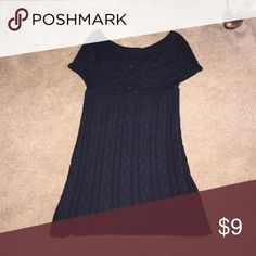 Sweater/Dress Scoop neck tunic sweater/dress Charlotte Russe Tops Tunics