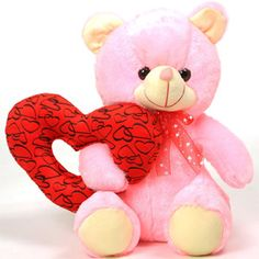Ring Heart Toy Teddy Bear Rs 494/- http://www.tajonline.com/valentines-day-gifts/product/slw708/ring-heart-toy-teddy-bear/?aff=pint2015/
