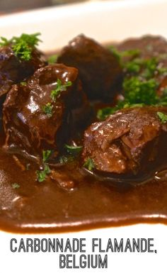 Souvenir Recipe: Belgian Beer Carbonnade (Belgian Beef Stew) - Souvenir Finder