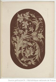 Specimens de la décoration et de l'ornementation au XIXe siècle / par Liénard - 41
