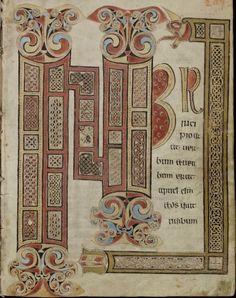 Irisches Evangeliar von St. Gallen (Quatuor evangelia) Irland · um 750 Cod. Sang. 51  Folio 209