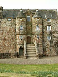 Rowallan Castle 13th Cen Scotland