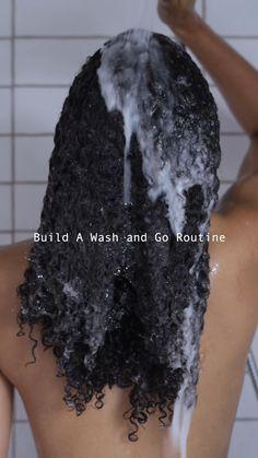 Curly Hair Styles, Natural Hair Styles, Curly Hair Tutorial, Curly Hair Routine, Wash And Go, Hair Hacks, Hair Tips, Silky Hair, Scarf Hairstyles
