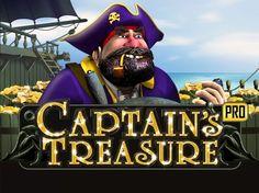 "Play Scr888, Sky888 ""Captain's Treasure"" Funny Slot Game! http://newtown-casino.com/"