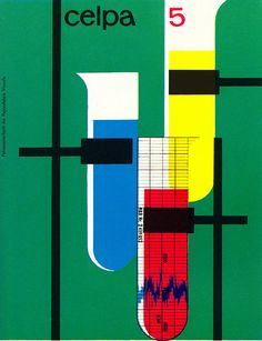 Walter Bosshart Illustration    House organ of a Swiss paper manufacturer. From Graphis Annual 60/61.