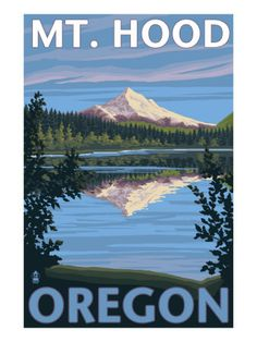 Mount Hood from Lost Lake, OR...........fun trip!!!           BDR