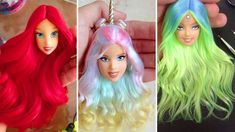 Barbie Doll Hairstyles 2018 👰 How To Make Barbie Hairstyle 👸 New Barbie ...