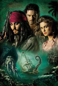 Pirates of the Caribbean: Dead Man's Chest (2006) v1 Key Art