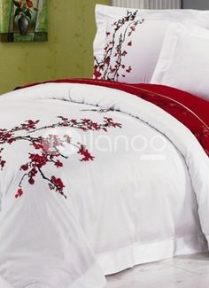 Cherry Blossom Bedding Collection Bed Set Guest Bedroom For