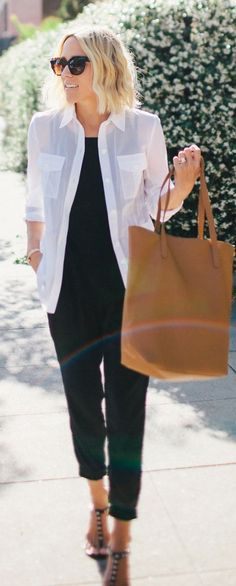 Camel Tote Casual Chic Streetstyle by Damsel In Dior