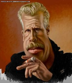 Ron Perlman.       For more great pins go to @KaseyBelleFox