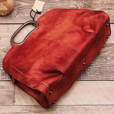Leather Women Satchel Shoulder Bag Handbag  WF51 - ArtofLeather