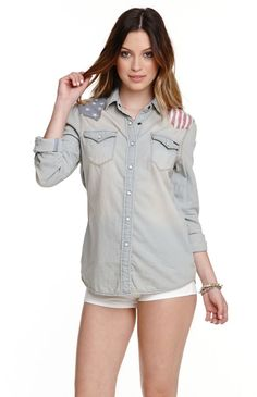 pacsunpacsun muertos relaxed short sleeve button up camp shirt at on ... e2c1f708f